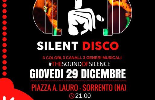Silent Disco a Sorrento