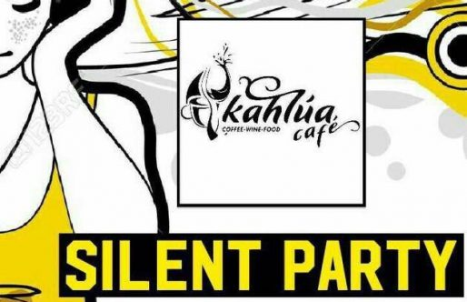 SILENT DISCO PARTY @ KAHLUA CAFé